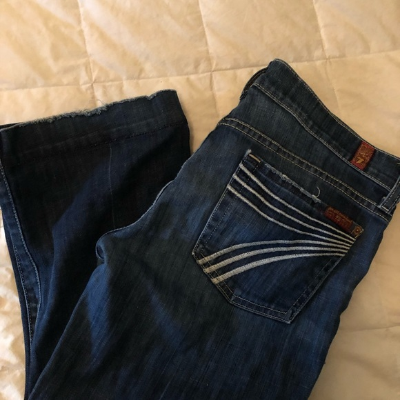 7 For All Mankind Denim - Seven for all mankind crop